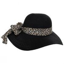 Cameroon Leopard Scarf Braided Swinger Sun Hat alternate view 3