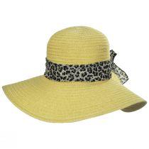 Cameroon Leopard Scarf Braided Swinger Sun Hat alternate view 6