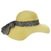 Cameroon Leopard Scarf Braided Swinger Sun Hat alternate view 7