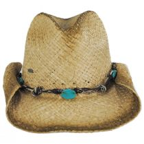 Lamone Raffia Straw Western Hat alternate view 2