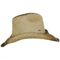 Lamone Raffia Straw Western Hat alternate view 3