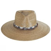 Laeila Palm Straw Fedora Hat alternate view 2