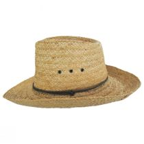Tacoma Raffia Straw Outback Hat alternate view 2