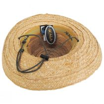 Tacoma Raffia Straw Outback Hat alternate view 4