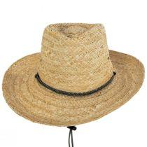Tacoma Raffia Straw Outback Hat alternate view 7
