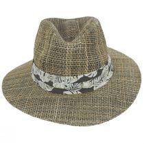 Quest Seagrass Straw Safari Fedora Hat alternate view 2