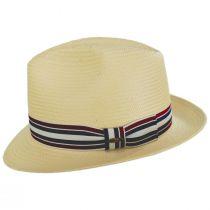 Capital Striped Band Toyo Straw Fedora Hat alternate view 3