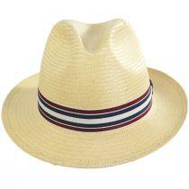 Capital Striped Band Toyo Straw Fedora Hat alternate view 6