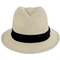 Summerville Polybraid Fedora Hat alternate view 6