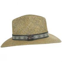 Echols Clubs Toyo Straw Safari Fedora Hat alternate view 3