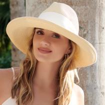 Adriana Toyo Straw Fedora Hat alternate view 4
