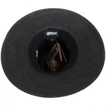 Vinard Grade 8 Panama Straw Safari Fedora Hat alternate view 12