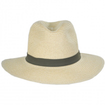 PFG Bonehead Toyo Straw Safari Fedora Hat alternate view 2
