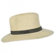 PFG Bonehead Toyo Straw Safari Fedora Hat alternate view 3
