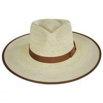 Jo Palm Straw Rancher Fedora Hat alternate view 22