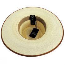 Jo Palm Straw Rancher Fedora Hat alternate view 32