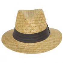 Reef Matte Toyo Straw Safari Fedora Hat alternate view 2