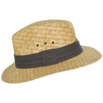 Reef Matte Toyo Straw Safari Fedora Hat alternate view 3