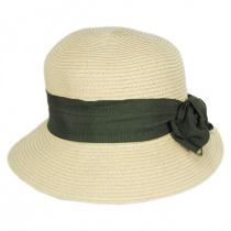 Spectator Toyo Straw Blend Cloche Hat alternate view 6