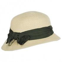 Spectator Toyo Straw Blend Cloche Hat alternate view 7