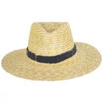 Alessia Milan Straw Fedora Hat alternate view 2