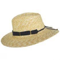Alessia Milan Straw Fedora Hat alternate view 3