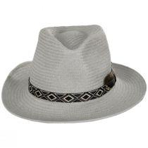 West Toyo Straw Fedora Hat alternate view 2