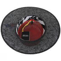 Reve 2-Tone Toyo Straw Boater Hat alternate view 8
