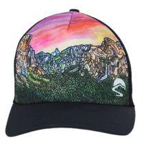 Yosemite Valley Trucker Snapback Baseball Cap alternate view 2