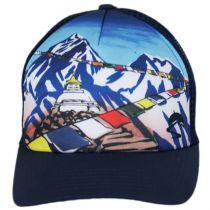 Everest Trucker Snapback Baseball Cap alternate view 2