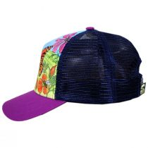 Kids' Butterfly and Bees Trucker Snapback Baseball Cap alternate view 3