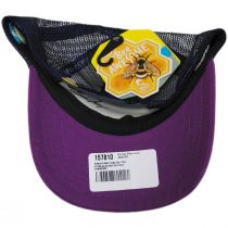 Kids' Butterfly and Bees Trucker Snapback Baseball Cap alternate view 4