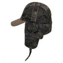 Camo Cotton Trapper Hat alternate view 3