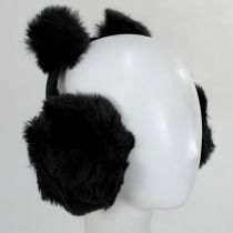 Pom Pom and Faux Fur Earmuffs alternate view 3