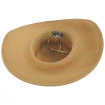 Ultrabraid Fold Back Toyo Straw Blend Sun Hat alternate view 4