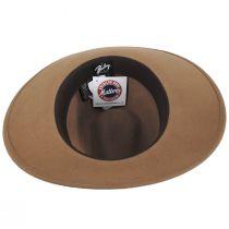 Stedman Elite Velour Wool Felt Fedora Hat alternate view 16