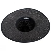 Jacquard Ribbon Toyo Straw Fedora Hat alternate view 4