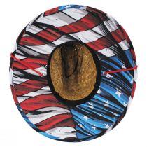 Youth Maverick Straw Lifeguard Hat alternate view 4
