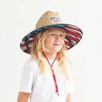 Youth Maverick Straw Lifeguard Hat alternate view 5