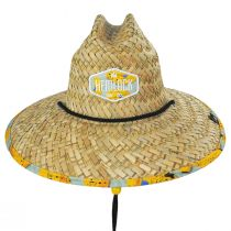 Youth Peel Straw Lifeguard Hat alternate view 2