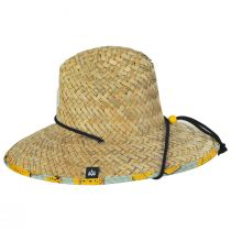 Youth Peel Straw Lifeguard Hat alternate view 3