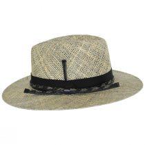 Verrett Seagrass Straw Fedora Hat alternate view 3