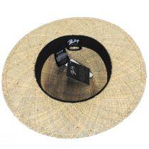Verrett Seagrass Straw Fedora Hat alternate view 4
