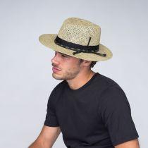 Verrett Seagrass Straw Fedora Hat alternate view 5