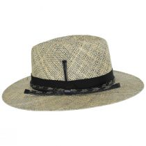 Verrett Seagrass Straw Fedora Hat alternate view 3