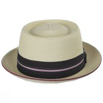 Carver Toyo Straw Blend Pork Pie Hat alternate view 2