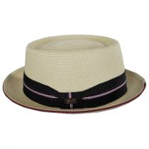 Carver Toyo Straw Blend Pork Pie Hat alternate view 3