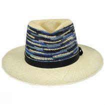 Tasmin Panama Straw Fedora Hat alternate view 2