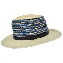 Tasmin Panama Straw Fedora Hat alternate view 13