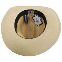 Gunnar Panama Straw Fedora Hat alternate view 16